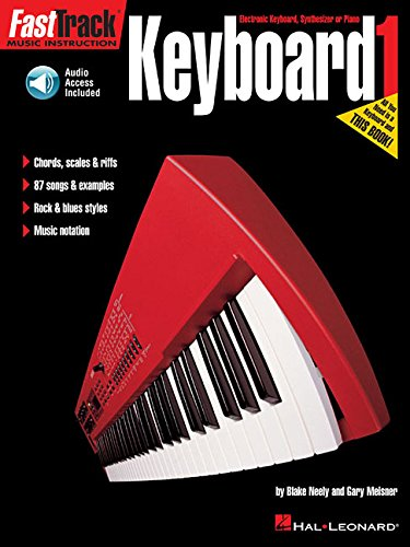 - FastTrack Music Instruction - Keyboard, Book 1 (Fasttrack Series)