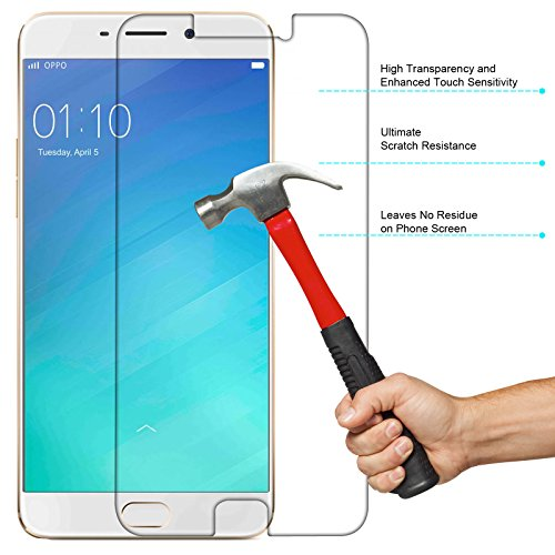 Oppo-F1s-Screen-Protector-iKare-Impossible-Fiber-Tempered-Glass-Screen-Protector-for-Oppo-F1s-REUSABLE-ULTRA-CLEAR-REAL-SHOCK-PROOF-UNBREAKABLE