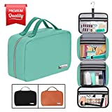"""Hanging Travel Toiletry Bag for Women and Men (100% Leak Proof & Doubles as a Cosmetic/Makeup Bag) 