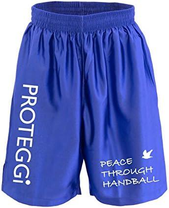 (プロテッジ)PROTEGGi ハンドボールで平和を ゲームパンツ 表面光沢タイプ