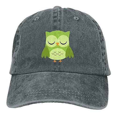 Cowgirl Owl for Hat Cowboy Green Denim Sport Cap Women Men Hats Skull wwaYznx
