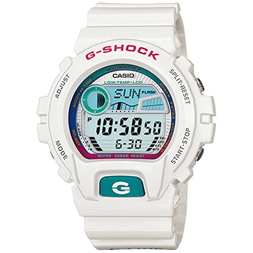 G Shock 6900 Glide Watch White
