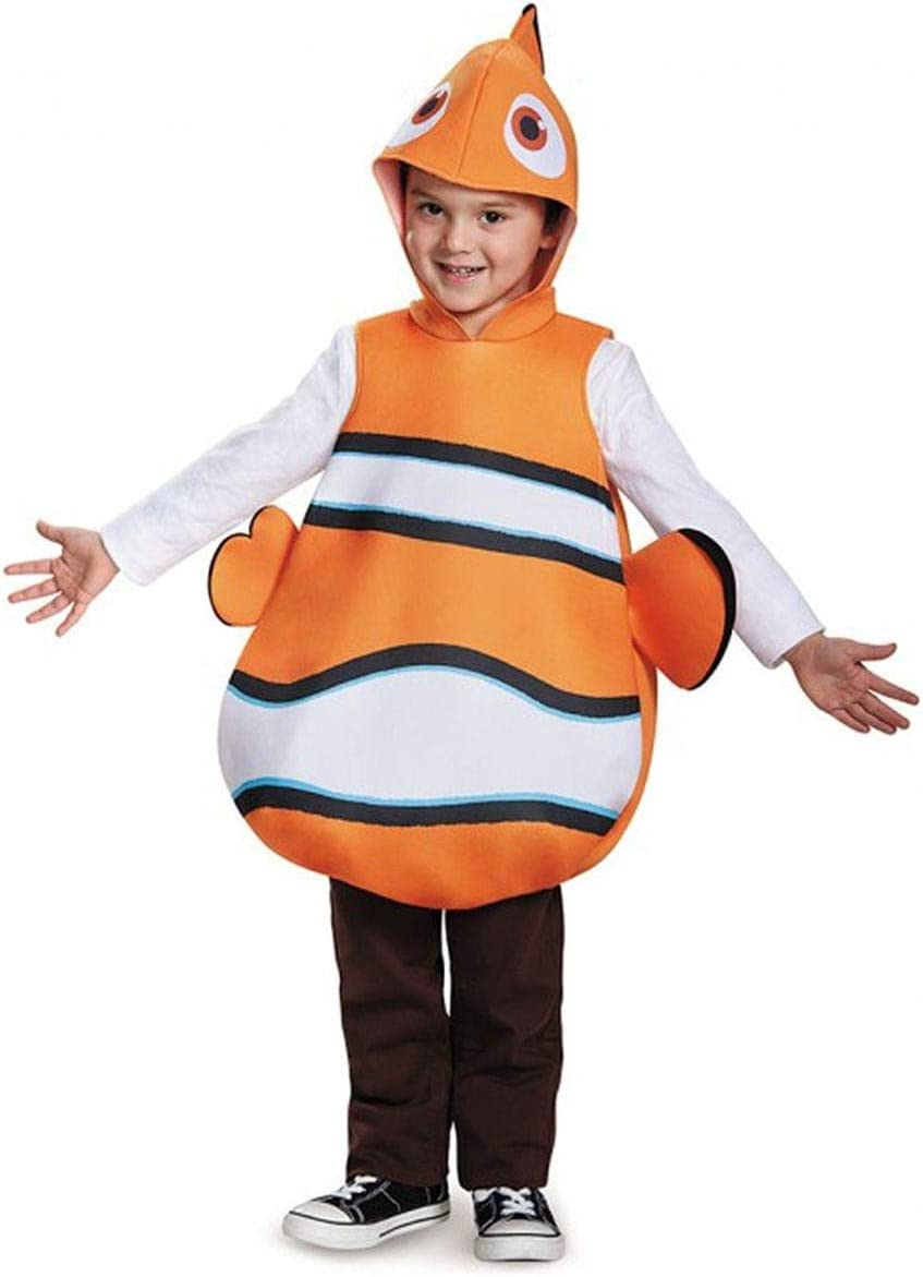 Disguise Nemo Classic Finding Dory Disney/Pixar Costume, One Size ...