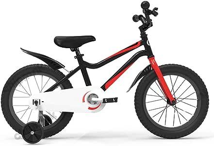 Axdwfd Infantiles Bicicletas Bicicleta for niños con Ruedas de ...
