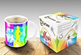 Heat Sensitive Morphing Mug | Color Changing Coffee Mug | Dancing Girls Magic Mug Funny Coffee/Tea Cup | Birthday Gift Idea for Him or Her, Mother' Gift for Mom and Father's Day Gift for Dad