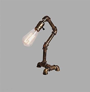 Tdes Schreibtischlampen Loft Kupferrohr Lampe Retro Kreative