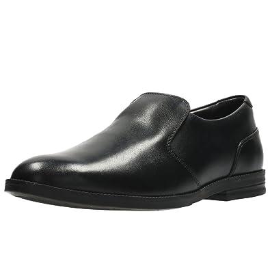 CLARKS WILLIS STEP BOYS BOOTLEG SLIP ON SCHOOL SHOES