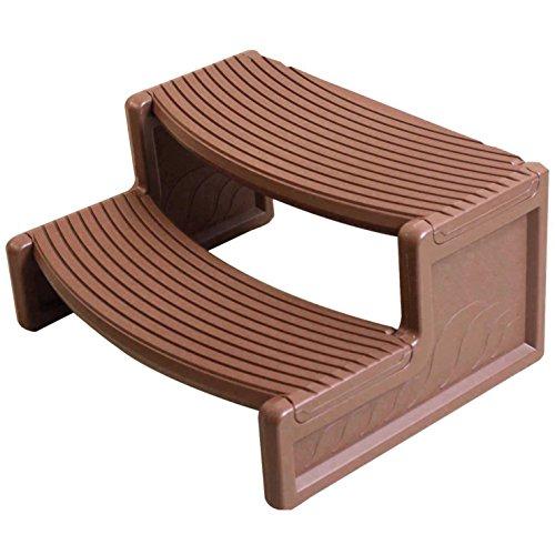 Confer Plastics Handi-Step for Spa (Medium Redwood) (Step Side Spa)
