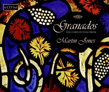 E. Granados, Martin Jones - Granados: Complete Piano Music - Amazon.com Music