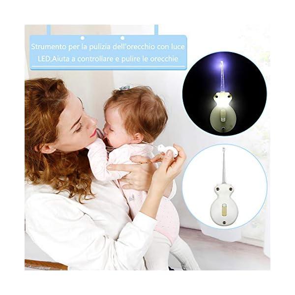 Lictin Set per la Cura del Bambino - Beauty BabyCare - Forbicine per Unghie e Capelli,Spazzolini da denti,Tagliaunghie… 6