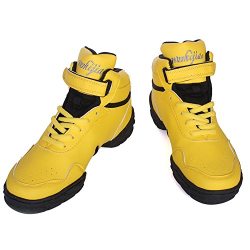 Modern Ballroom Jazz Roymall Shoes Sports Dance Boost DS Performance Dance Leather Yellow Men Sneaker and sneakers WZJ Women's Model Rz8f0R