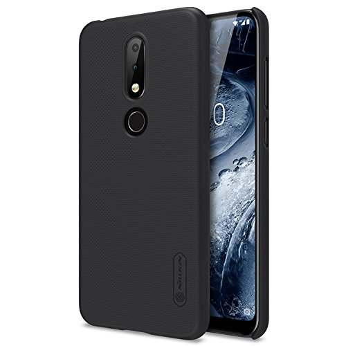 Nillkin Case Frosted Hard Back Cover for for Nokia 6.1 Plus / X6  Black