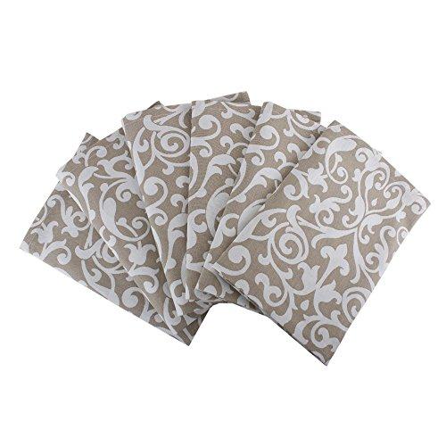 Set of 6 Napkins, 100% Cotton of size 20