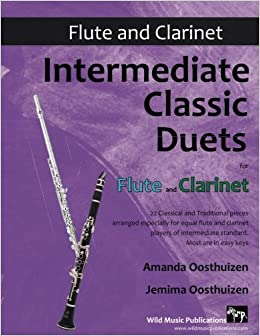 Amazon com: Intermediate Classic Duets for Flute and Clarinet: 22