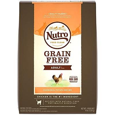 NUTRO Grain Free Adult Dry Cat Food, Chicken