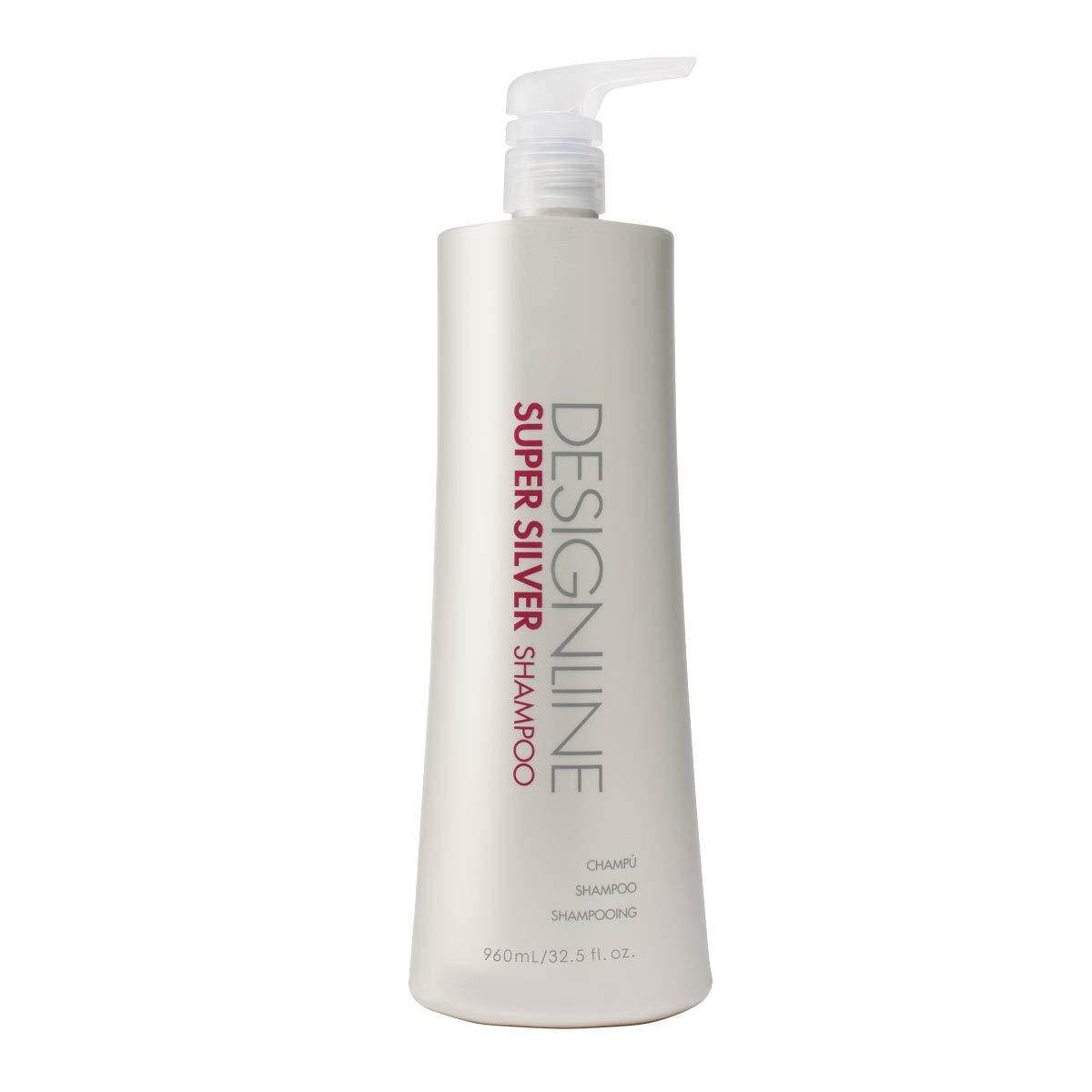 Super Silver Shampoo, 32.5 oz - Regis DESIGNLINE - Restores Moisture to Boost Color Brilliance for Blonde, Grey, White Hair and Strengthens, Detangles, Improves Elasticity to Prevent Color Fade