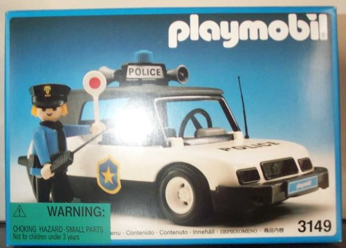Playmobil 3149 Police Car and Police Person