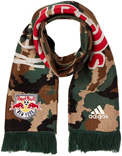 (MLS New York Red Bulls Adult Jacquard Scarf, One Size, Camo)