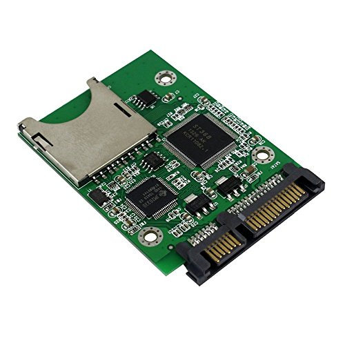 QNINE SD Card to SATA Adapter, SDHC SDXC MMC Memory Card Converter as HDD SSD Solid State Hard Disk Drive by QNINE (Image #1)