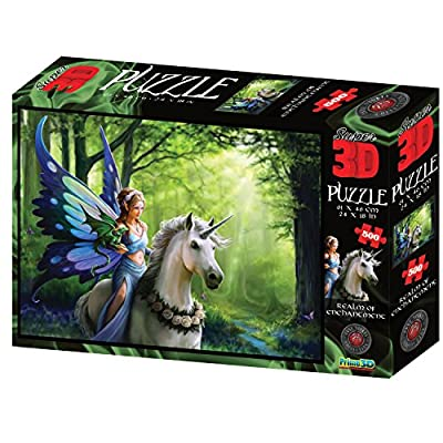 Anne Stokes As10095 3d Puzzle Multi 61 Cm X 46 Cm