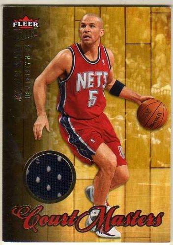 2007-08 Ultra SE Court Masters Memorabilia #CM-7 Jason Kidd Game-Worn Jersey Card - New Jersey Nets