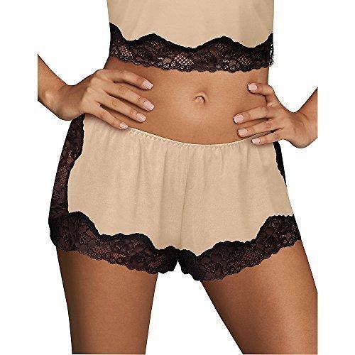 Cami Tap Pant - Maidenform Women's Casual Comfort Tap Pant, Black, Large