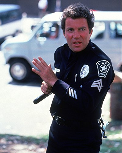 william-shatner-in-tj-hooker-holding-police-truncheon-16x20-canvas-giclee