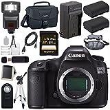 Canon EOS 5DS-R 5DSR DSLR Camera + LPE-6 Lithium Ion Battery + External Rapid Charger + Canon 100ES EOS shoulder bag Bundle 2