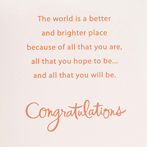 Hallmark Graduation Greeting Card (All That You Will Be) Photo #5