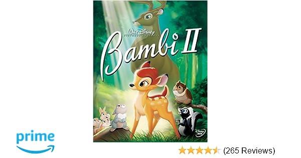 Amazon com: Bambi II: Patrick Stewart, Alexander Gould, Brendon