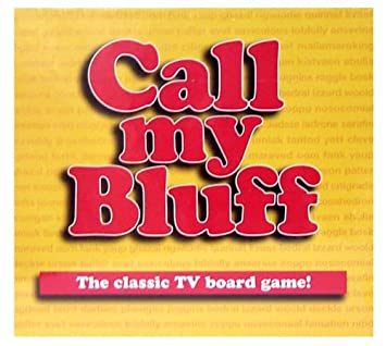 Call My Bluff: Amazon.co.uk: Toys & Games