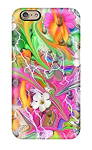 Perfect Funky Floral Abstract Case Cover Skin For Iphone 6 Phone Case