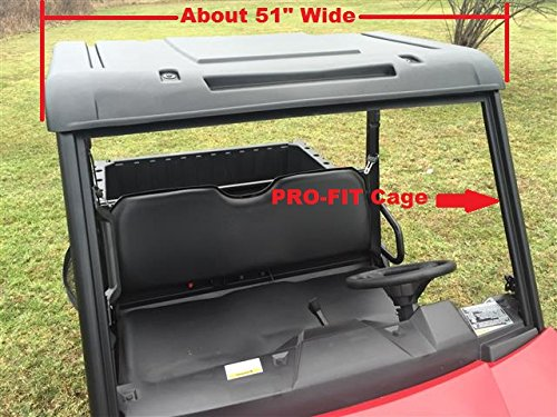 Mid Roof - P/N13020 Mid-Size Ranger/ 2-Seat Ranger Polyethylene Top (fits: PRO-Fit Cage, 50