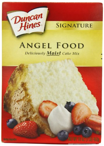 Price comparison product image Duncan Hines Signature Cake Mix,  Angel Food,  16 oz