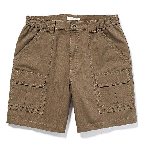 Savane Mens Comfort Hiking Cargo Shorts (36, Major Brown)