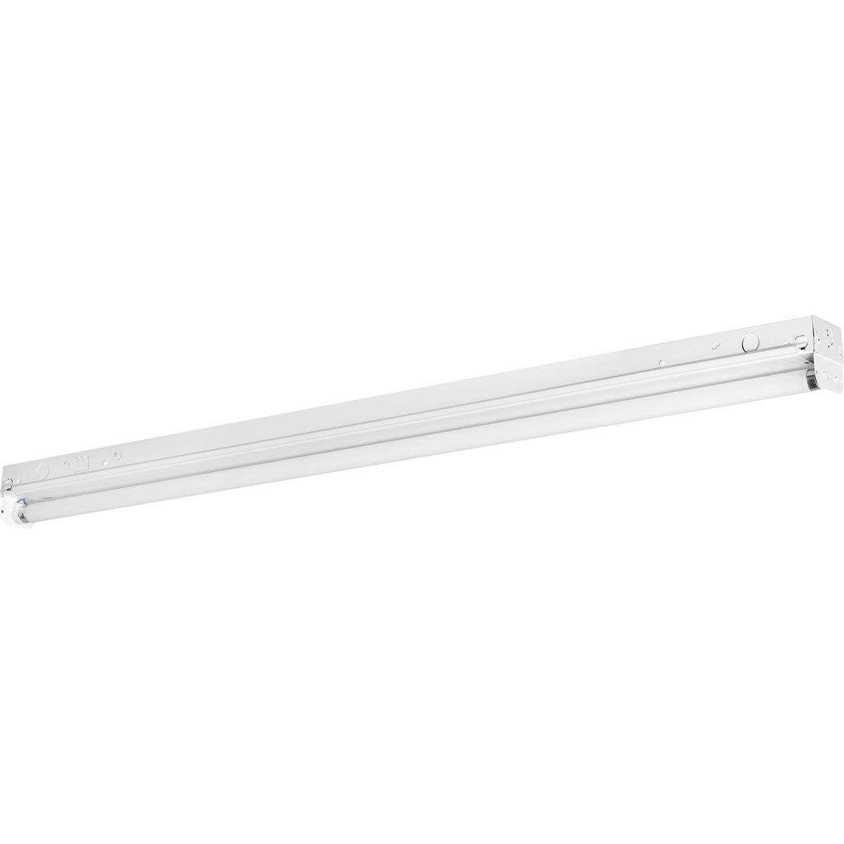 Progress Lighting P7267-30EB Fluorescent Strip Lights 120 Volt Normal Power Factor Electronic Ballast, White