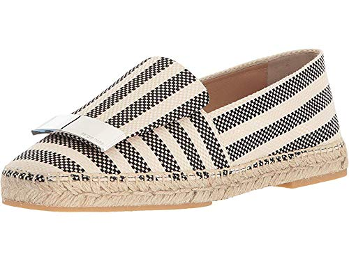 Sergio Rossi A80610-MTE121 Nero Portofino 38.5 (US Women's 8.5) (Portofino Shoes)