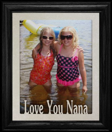 Amazon.com - 8x10 LOVE YOU NANA Portrait Picture/Photo Laser Name ...