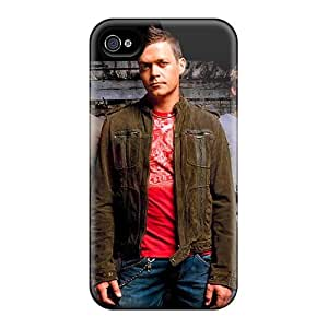 Iphone 4/4s FHt3805rOCL Provide Private Custom Vivid Red Hot Chili Peppers Pattern Protective Phone Covers -AnnaDubois