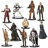 Disney Store Star Wars: The Force Awakens 10 Deluxe Figurine Set