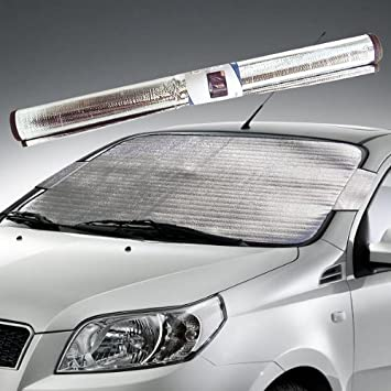 New Sakura Premium Windscreen Frost Cover Winter Ice Snow Car Van Universal Fit