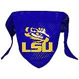 Hunter Mfg. LLP NCAA LSU Tigers Pet Bandana, Team Color, Small