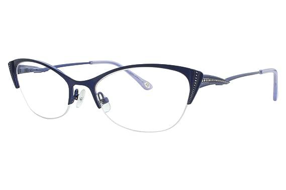 Amazon.com: Lulu Guinness L764 Womens Eyeglass Frames - Blue: Clothing