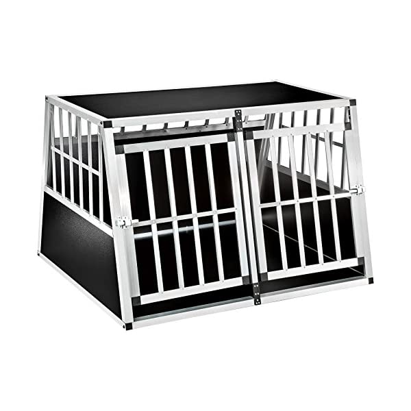 TecTake Dog cage trapezoidal - different models - 2