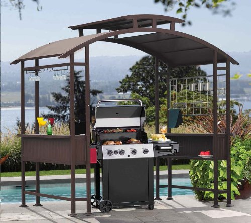 Outdoor Hardtop Grill Gazebo