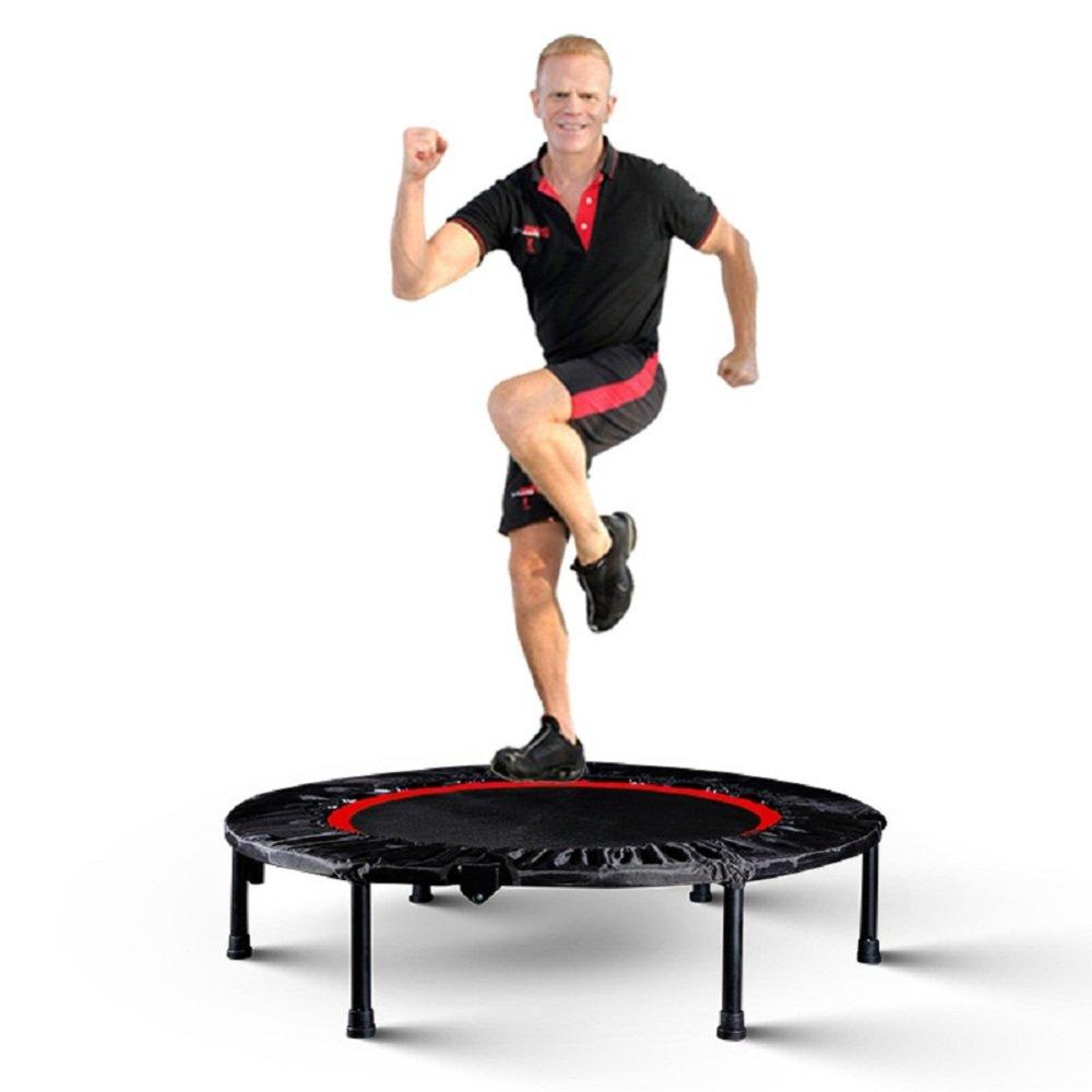 VIO Erwachsene Fitness Trampolin Kinder Home Indoor Jumping Bett Zusammenklappbar Armlehne Gym Spezielle Spring Jumping Bett