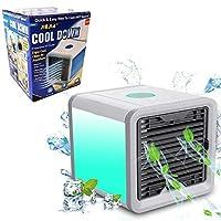 Climatizador Ar Ventilador Luminaria Agua Cool Cooler Gelado (888675)