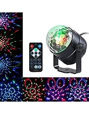 VISLONE 3W RGB afstandsbediening mini LED magische bal lamp podium lichteffect voor disco KTV Club Bar Home Party
