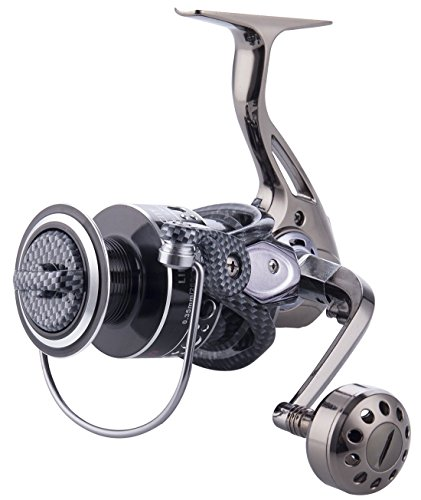 Full Metal Spinning Fishing Reel - Annymall 12+1BB Ball Bearing Fishing Reel Double Bearing System 5.2:1 Gear Ratio Baitcasting Reels with 2000 3000 4000 5000 6000 7000 Series (7000) (Master Ocean Casting)