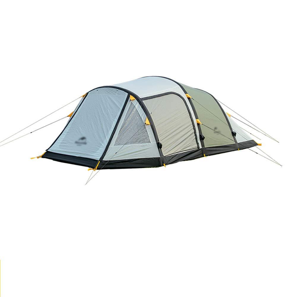 Yuhong Zelt, 3-4 Personen aufblasbare Zelte EIN Zimmer und EIN Wohnzimmer im Freien Camping Wanderort-Zelt